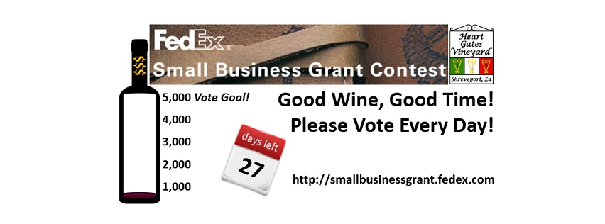 FedEx Small Business Grant Contest Reminder